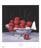 "Cherry Bowl by Simon Steele - 20"" x 23"""