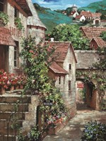 Italian Country Village I Framed Print