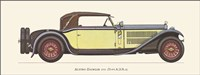 Austro-Daimler 1931 Fine Art Print