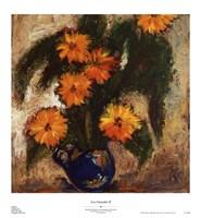 """Los Girasoles II by Michelle Mirabeau - 20"""" x 22"""""""