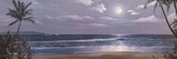 Moonlit Paradise II Framed Print