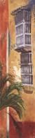 Balcones De Cartagena I Fine Art Print