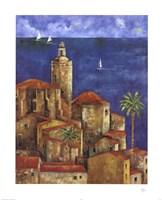 """Vista Azul by Wendy Wooden - 28"""" x 34"""""""