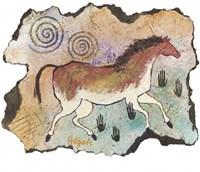 Ancient Horse (S) Serigraph