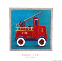 Fire Engine Fine Art Print