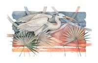 "Heron I by Paul Brent - 34"" x 22"""