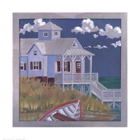 """Nautical House by Paul Brent - 11"""" x 11"""""""