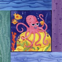 Seafriends-Octopus Fine Art Print