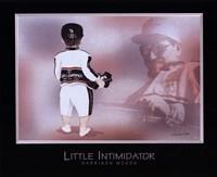 Little Intimidator Framed Print