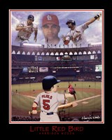 Little Red Bird - Albert Pujols Fine Art Print