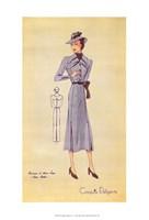 """Ladies Fashion IV by Richard Henson - 9"""" x 16"""""""