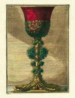 Red Goblet I Fine Art Print