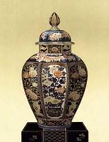 Oriental Blue Vase II Fine Art Print
