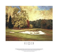 "After the Rain at Merion by Michael Miller - 26"" x 24"""