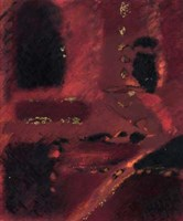 """Red Mirage I by Kris Taylor - 20"""" x 24"""", FulcrumGallery.com brand"""