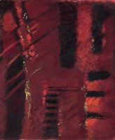 """Red Mirage II by Kris Taylor - 20"""" x 24"""", FulcrumGallery.com brand"""