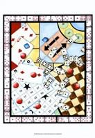 "Games Galore I by Chariklia Zarris - 12"" x 15"""