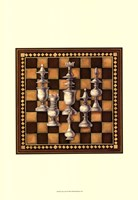 Chess Set I Fine Art Print