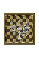 "Chess Set II by Richard Henson - 11"" x 11"", FulcrumGallery.com brand"
