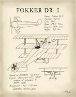 Fokker Dreidecker Fine Art Print