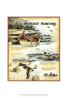 Web Foot Hunting Fine Art Print