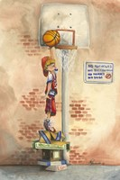 Slam Dunk by Jay Throckmorton - various sizes