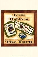 "Hold 'em II by Jennifer Goldberger - 13"" x 19"", FulcrumGallery.com brand"