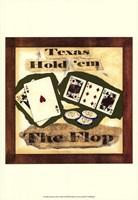 "Hold 'em III by Jennifer Goldberger - 13"" x 19"", FulcrumGallery.com brand"
