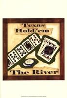 "Hold 'em IV by Jennifer Goldberger - 13"" x 19"", FulcrumGallery.com brand"