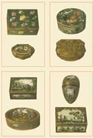 Mini Jewel Boxes Fine Art Print