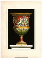"""Vase with Cherubs by S. Thomassin - 9"""" x 13"""""""
