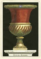 """Vase with Red Center by S. Thomassin - 9"""" x 13"""""""