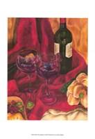 "Wine Indulgences II by Jennifer Goldberger - 11"" x 14"", FulcrumGallery.com brand"