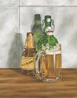 Beer Series II by Jennifer Goldberger - various sizes