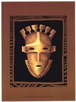 African Mask III Fine Art Print