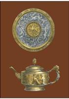 "Silver Serving Pieces II by Jennifer Goldberger - 12"" x 16"""