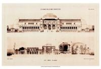 "Les Grands Prix D'Architecture I by Jennifer Goldberger - 19"" x 12"""
