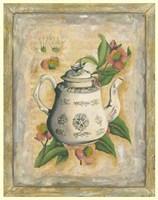 "Tea Time by Jennifer Goldberger - 11"" x 14"""
