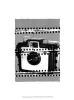 Camera Chrome II Framed Print