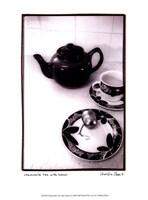 "Camomile Tea with Lemon by Chariklia Zarris - 10"" x 13"""