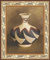 Southwest Pottery II Fine Art Print
