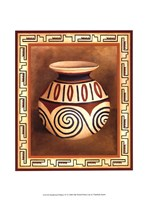 Southwest Pottery IV Fine Art Print