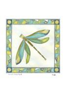 "Luminous Dragonfly II by Vanna Lam - 11"" x 11"""