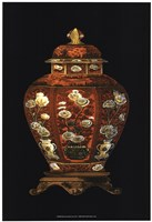 Red Porcelain Vase (P) I Framed Print