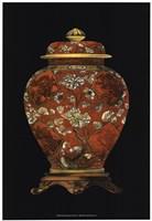 "Red Porcelain Vase (P) II by Vision Studio - 13"" x 19"", FulcrumGallery.com brand"
