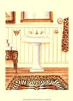 Safari Bath (D) Fine Art Print