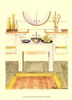 """Zen Bath (D) by Chariklia Zarris - 10"""" x 13"""""""