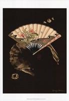 Oriental Fan II Fine Art Print