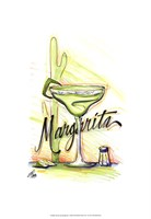 "Drink up...Margarita by Jay Throckmorton - 13"" x 19"""