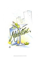 "Drink Up...Martini by Jay Throckmorton - 13"" x 19"""